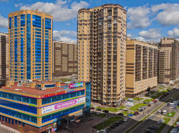 Вид на жилые дома ЖК Новокосино-2